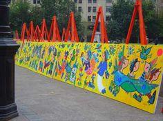 Mural Infantil, Santiago, Chile