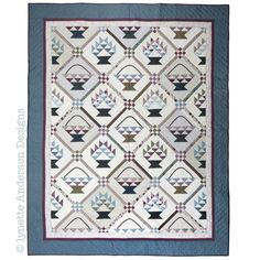Shop | Category: Kits | Product: Beautiful Baskets Quilt Kit - Pre order