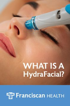 The HydraFacial treatment removes dead skin cells and extracts impurities while simultaneously bathing the new skin with cleansing, hydrating and moisturizing serums. The treatment is soothing, refreshing, non-irritating and immediately effective. Type Treatments, Skin Care Treatments, Facial Treatment, Oily Skin Care, Skin Care Tips, Botox Migraine, Medical Esthetician, Hydra Facial, Congested Skin