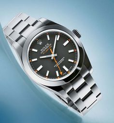 www.watchtime.com | reviews | Antimagnetic Attraction: Testing the Rolex Milgauss | Rolex Milgauss front 560