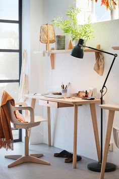 Office Furniture - Office - Home Office Furniture - IKEA Ikea Lisabo, Drawer Rails, Ikea Family, O Gas, Home Office Furniture, Furniture Storage, Wood Slats, Wooden Tables, Home Interior