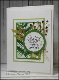 Green Mat, One Sheet Wonder, Leaf Cards, Dandelion Wish, Specialty Paper, Some Cards, Stamping Up, Embossing Folder, Stampin Up Cards
