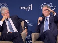 Bush: My Sweet Dad, a Wonderful Father to Bill Clinton and Me