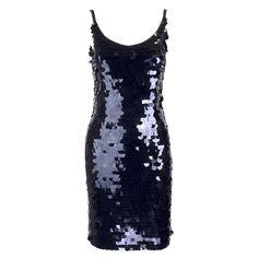 Vintage 80s Black Paillette Cocktail Dress – THE WAY WE WORE