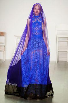 Fashion Show: Bora Aksu Spring Summer 2015 | Неделя Моды в Лондоне сентябрь 2014