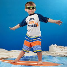 Rugged Bear swimwear for kids | zulily