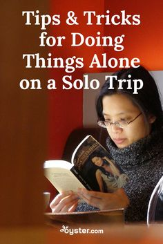 Several important decisions go into making a solo trip a satisfying adventure. Not only do safety concerns and language barriers come into play when planning a vacation, but questions of how to dine alone and make the most of a city's nightlife scene by yourself also arise. To help you tackle potentially awkward, lonely, and stressful situations, we rounded up some fool-proof tips and tricks for flying solo. The following approaches will help you take advantage of your solitary status while…