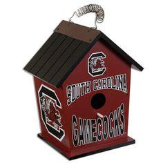 South Carolina Gamecock Birdhouse #gamecocks