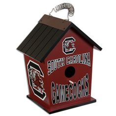 South Carolina Gamecock Birdhouse #gamecocks