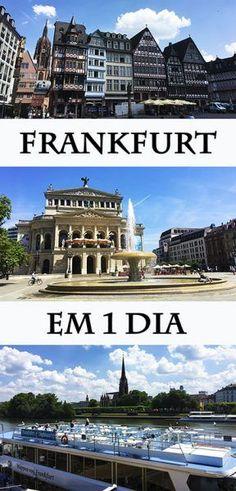 Frankfurt em 1 dia  #frankfurt #alemanha Frankfurt, Eurotrip, My Dream, Peru, Places To Go, Wanderlust, Germany, Europe, Mansions