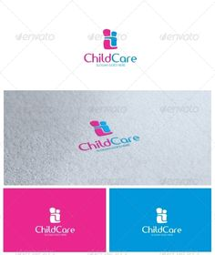 Child Care Logo — Vector EPS #babysitting #protection • Available here → https://graphicriver.net/item/child-care-logo/6663571?ref=pxcr