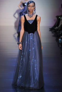 Armani Privé Fall 2012 Couture Fashion Show - Jasmine Tookes
