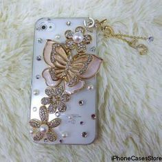 Butterfly iPhone case iphone 4s case iphone 4 by iPhoneCasesStore, $19.99