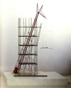 Yuri Avvakumov,Red Tower, 1988