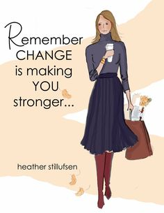 Taking Chances Quotes : QUOTATION – Image : Quotes Of the day – Description Yes CHANGE is making YOU stronger 🍂🍁 Sharing is Power – Don't forget to share this quote ! Positive Quotes For Women, Positive Thoughts, Positive Art, Strong Quotes, Taking Chances Quotes, Chance Quotes, Uplifting Quotes, Inspirational Quotes, Woman Quotes