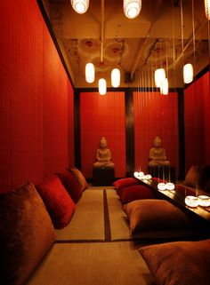The Geisha,West Coast influenced Japanese Restaurant, Club, Sushi Bar and Sake Lounge, Shanghai, by Red Design Consultants
