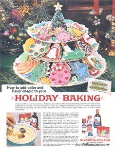 McCormick-Schilling Vintage Christmas Ad Merry Christmas from Johnny and Jomadado.com !!! #Christmas #vintagechristmas