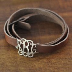 Personalized monogram braceletalloyCustom by LoveHandmadeJewelry, $14.99