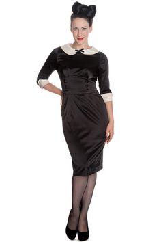 Hell Bunny Moneypenny Dress Black Now £29.99 sizes 8-16 wigig