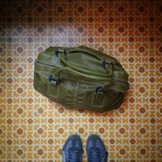 Orla Kiely weekend bag