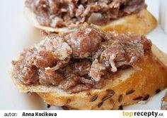 """Domácí hovězí ve """"vlastní šťávě"""" recept - TopRecepty.cz Apple Pie, Waffles, French Toast, Food And Drink, Beef, Breakfast, Desserts, Pear Tart, Food"""