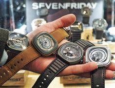 A Hand Full Of Sevenfridays Pic By @harrodstimes  #rolex#hublot#cartier#omega#audemarspiguet#patekphillipe#romainjerome#ulyssenardin#breitling#bomberg#sevenfriday#panerai#mauricelacroix#perrelet#seiko#arnoldandson#urwerk#graham#bovet#richardmille#bellandross#zenith#watch#watchporn#wristshot#watchanish#luxury#luxurywatch#iran#tehran by iranwatchclub