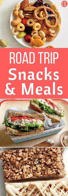 Summertime means road trips, family vacations, and beach weekends. We have the best recipes for road trip snacks and meals to keep you on track without keeping you at home. | Cooking Light