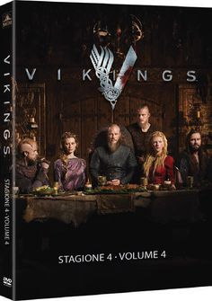 Vikings - Stagione 04 #01 (3 Dvd) (DVD NUOVO)