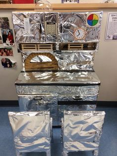 Space station dramatic play Dramatic Play Themes, Dramatic Play Area, Dramatic Play Centers, Nursery Activities, Space Activities, Space Theme Preschool, Preschool Boards, Space Classroom, School Age Activities