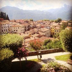 Love Barga in Tuscany for great food everywhere! #tuscany