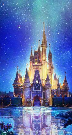 The magical castle of Walt Disney