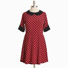 What's up with this??  Minnie Mouse Dress for Halloween, maybe??