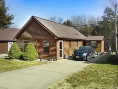 Great Retirement or Vacation Cabin in Excellent, Well Maintained and Managed 55+ Neighborhood Close to the Lakes and Convenient to Town and Shopping. Amenities Include Pool and Clubhouse. 8 X 8 Storage Building Included.