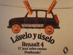 Renault 4, Lavelo y úselo...