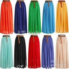 maxi skirts, $10--- these are so cheap!!!