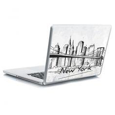 Αυτοκόλλητο laptop New york Laptop Stickers, Bookends, Container, New York, New York City, Nyc