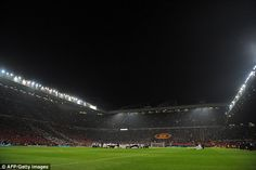 Packed house: The Old Trafford fans will be out in full force as Suarez returns against United 01 Sept 13