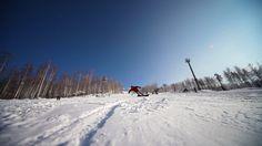 2月19日、スノーボード