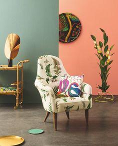 GUBI // Adam Lounge Chair in Costume Living