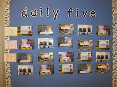 First Grader...at Last!: The Daily Five