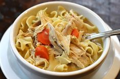 Easy Slow Cooker Recipes – Creamy Chicken Noodle Soup