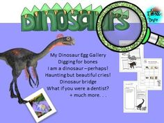 This project-based learning resource focuses on the magnificent dinosaurs. These activities are a perfect way to think about what information is and how we. Dino Museum, Shape Poems, Steam Activities, Primary Classroom, Project Based Learning, Teaching Materials, Creative Thinking, Learning Resources, Tes
