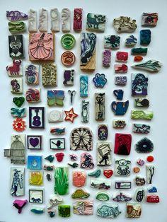 some stamps (by hier houd ik van)