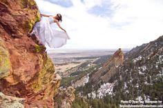 Rock climbing wedding on the Flatirons :)