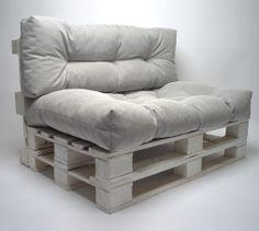 Palettenkissen Lounge-Set Gesteppt - Pepita