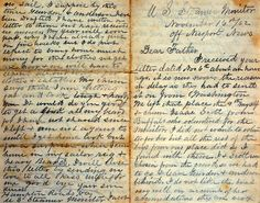 Crew of the USS Monitor: Could Sailor Jacob Nicklis Be One of the Mystery Skeletons? a letter home