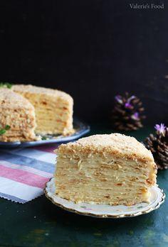 img_6043sitww Gourmet Recipes, Cake Recipes, Healthy Recipes, Healthy Food, Napoleons Recipe, Napoleon Cake, Food Cakes, Pavlova, Tiramisu