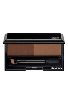 Free shipping and returns on Shiseido Eyebrow Styling Compact at Nordstrom.com. Give yourself perfect, natural-looking eyebrows with Shiseido's Eyebrow Styling Compact. It helps you create your very own brow look that complements your coloring so you look positively radiant. The compact features a double-sided applicator that enables you to draw a sharp line for a bold look, or blend shades for a softer finish.