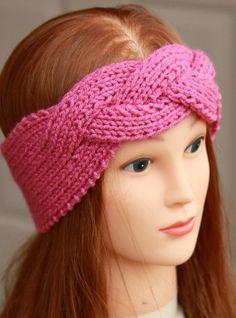 HER TELDEN HOBİ: örgü saç bantları-bandana