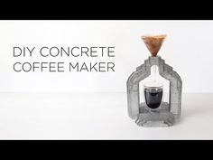 HomeMade Modern EP73 Concrete Coffee Maker